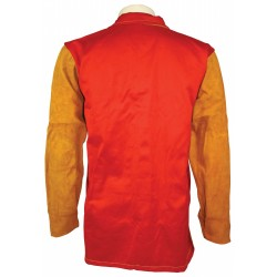 Premium Leather Welding Jacket