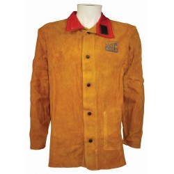Premium Leather Welding Jacket - XL