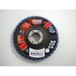 "Rasta 4.1/2"" Flap Disc 40 Grit Hot Chili 5555RA"
