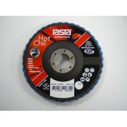 "Rasta 5"" Flap Disc 60 Grit Hot Chili 5566RA"