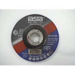 "Rasta 4.1/2"" Grinding Disc 6106RA"
