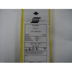 Esab OK 68.81 312 Stainless Steel Welding Rod 2.5 x 300mm (0.7kg)