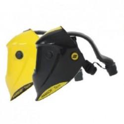 ESAB Warrior Tech Helmet Prepared for Air - Yellow