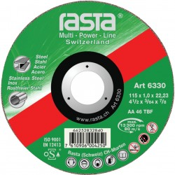 "Rasta 5"" Metal Cutting Disc 6336RA"
