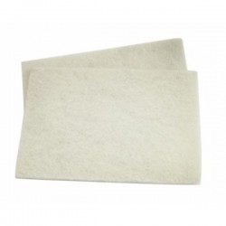 3M Scotchbrite Hand Pad White - Pack 5