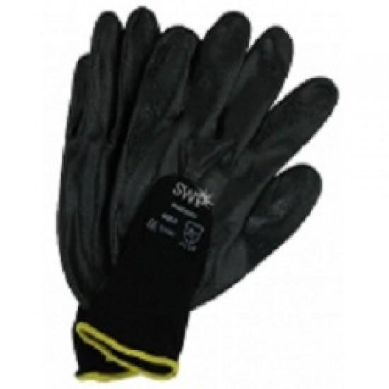 SWP Nitrile Glove - Size 9 (Black)
