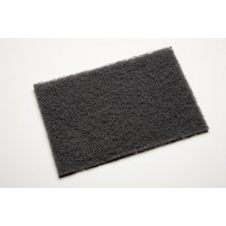 7448 Ultra Fine Finishing Hand Pad Grey, 3M Scotchbrite, in Pack of 3